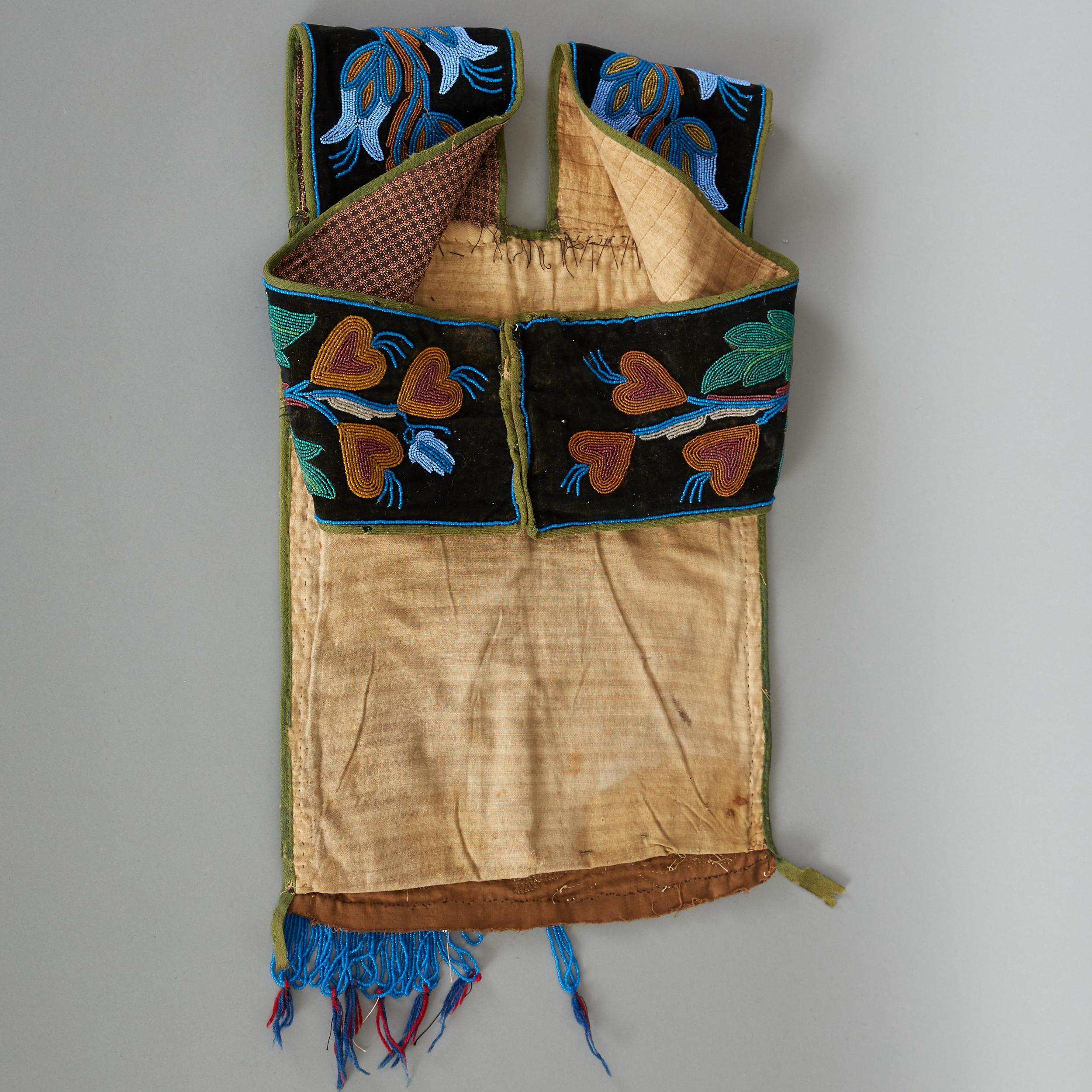 Lot 263 - Ojibwe Beaded Bandolier Bag Late 19th c.