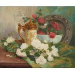 Lot 26 - Eugene Henri Cauchois Still Life Oil on Canvas