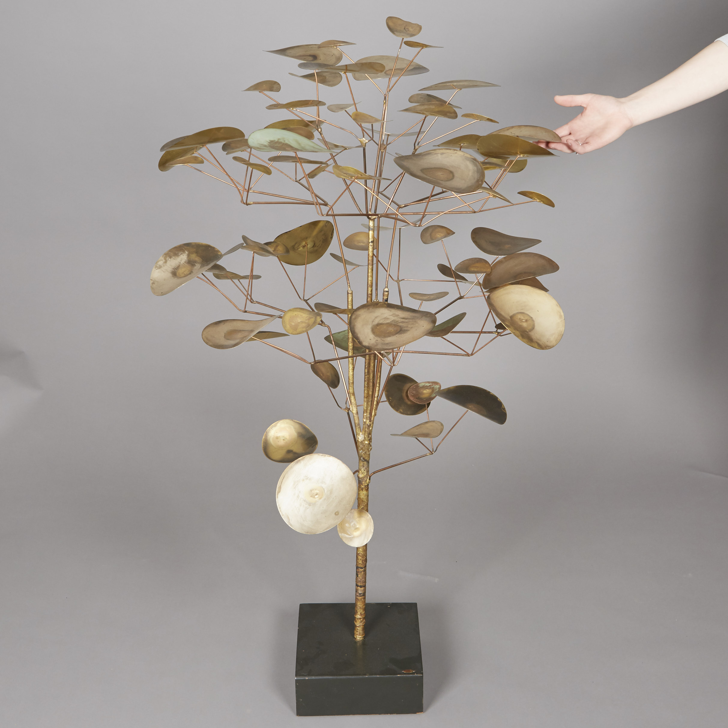 Lot 93 - Curtis Jere Metal Tree Sculpture