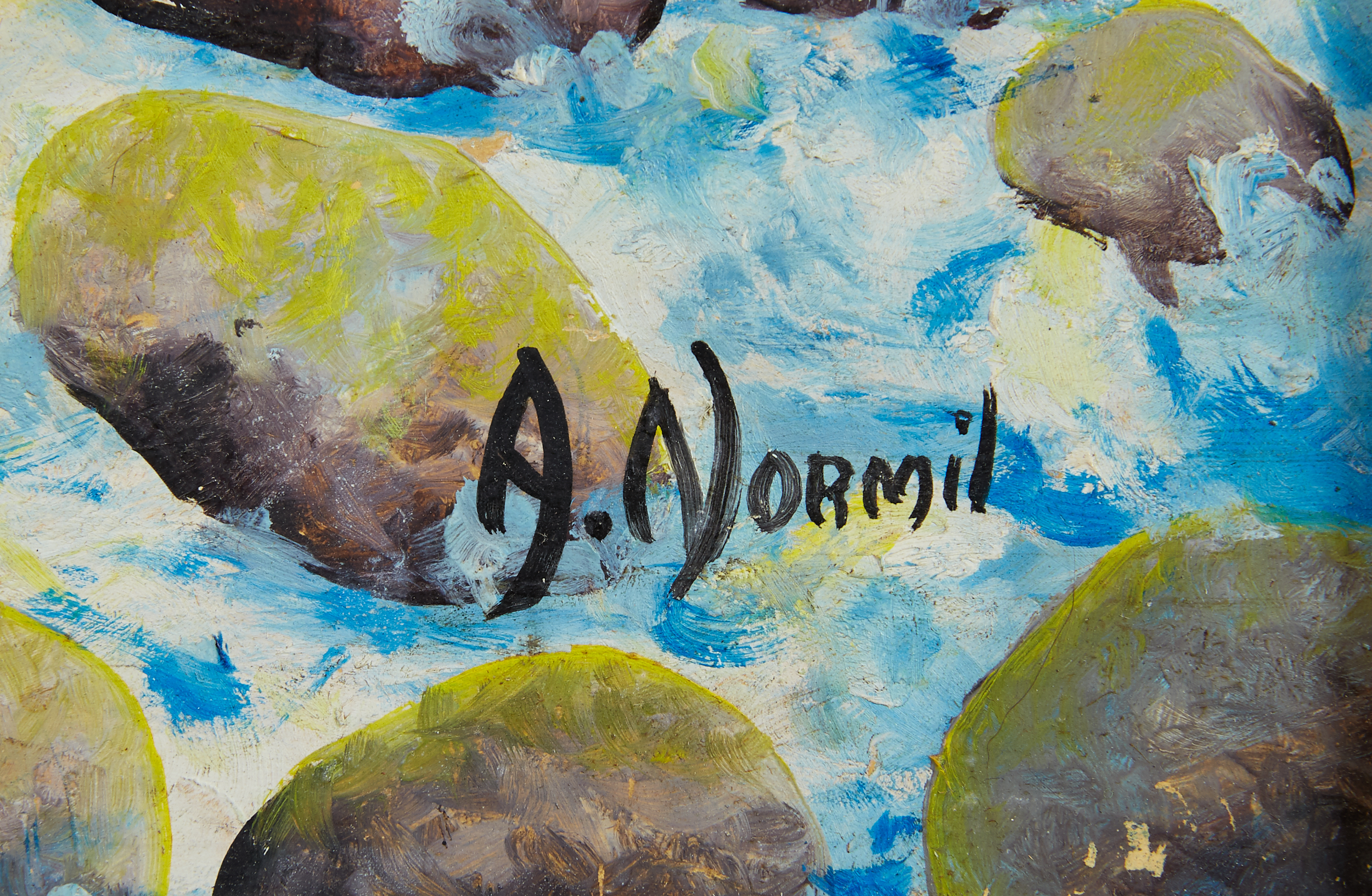 Lot 31 - Andre Normil Haitian Oil Painting