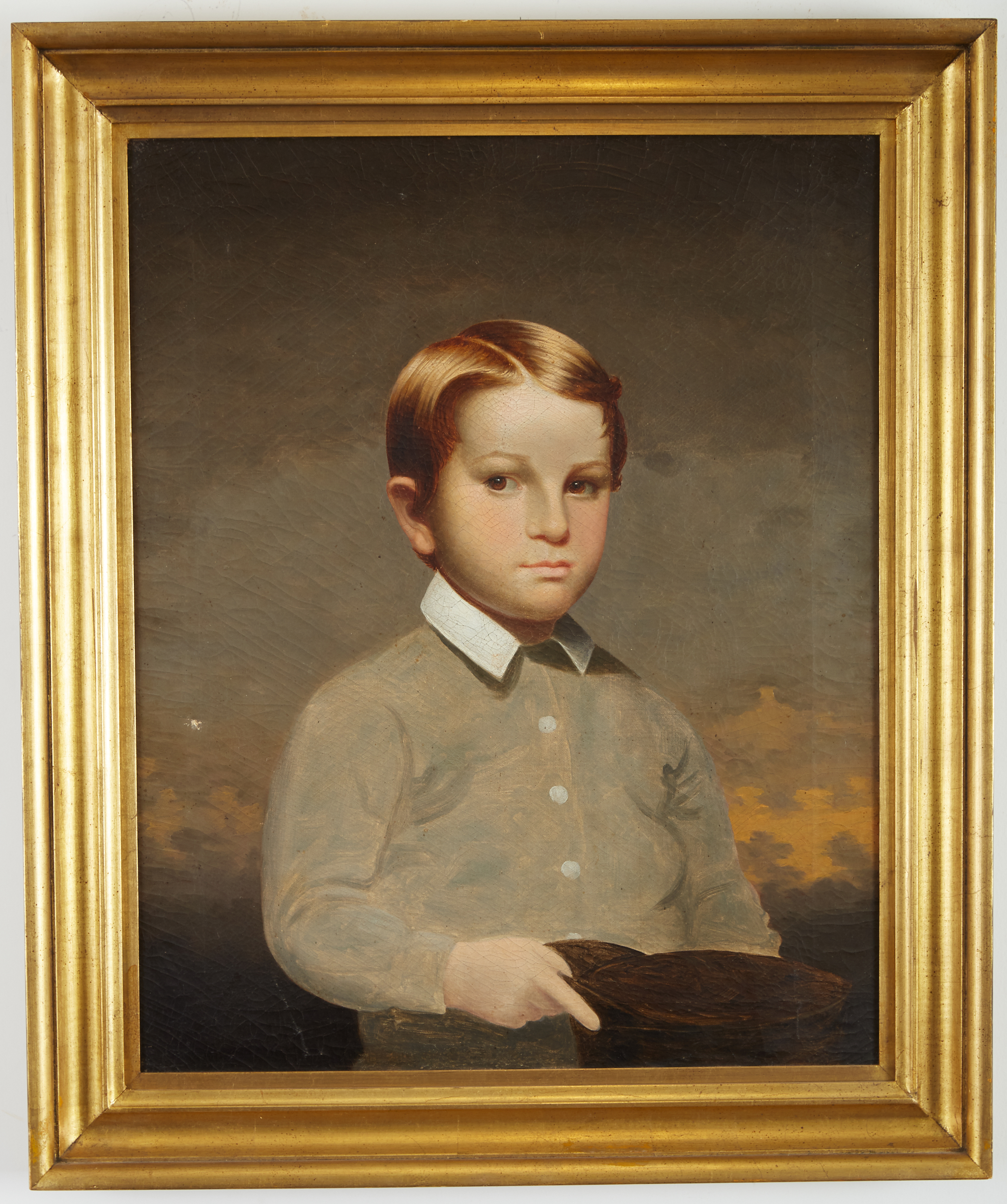 Lot 8 - Cephas Thompson Portrait of Charles Frederick Thompson