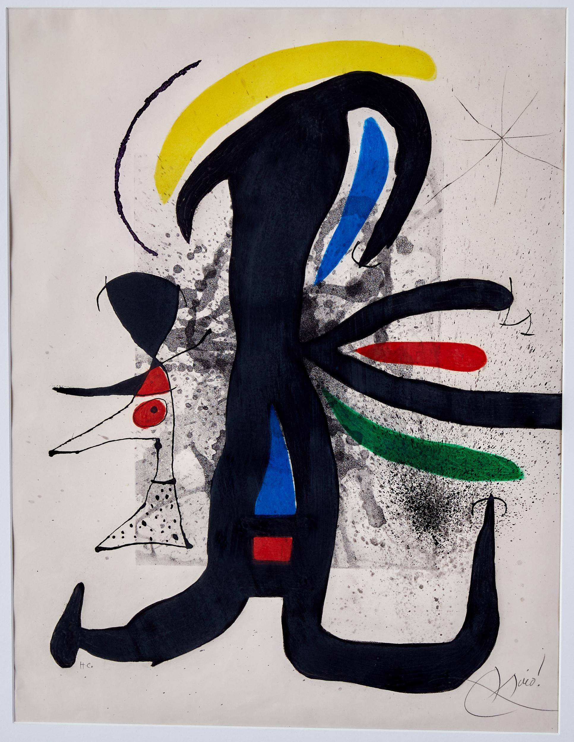 Lot 59 - Joan Miro Une Telle Et Son Petit Mari Etching D.540