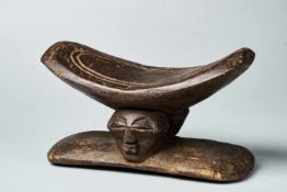 Wooden Neckrest - Songye People, DRC - Tribal ArtWooden Neckrest - Songye People, DRCDated to the
