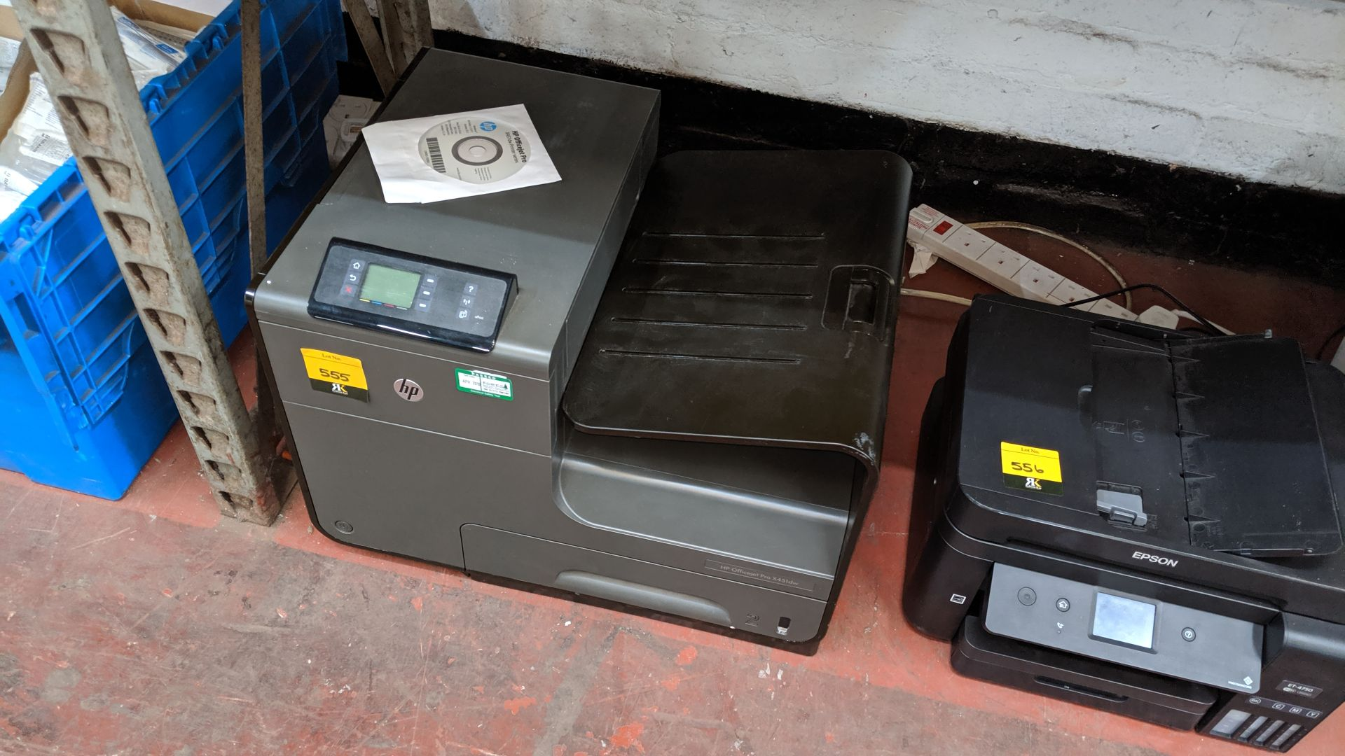 Lot 555 - HP OfficeJet Pro X451DW multifunction printer. This is one of a large number of lots used/owned by