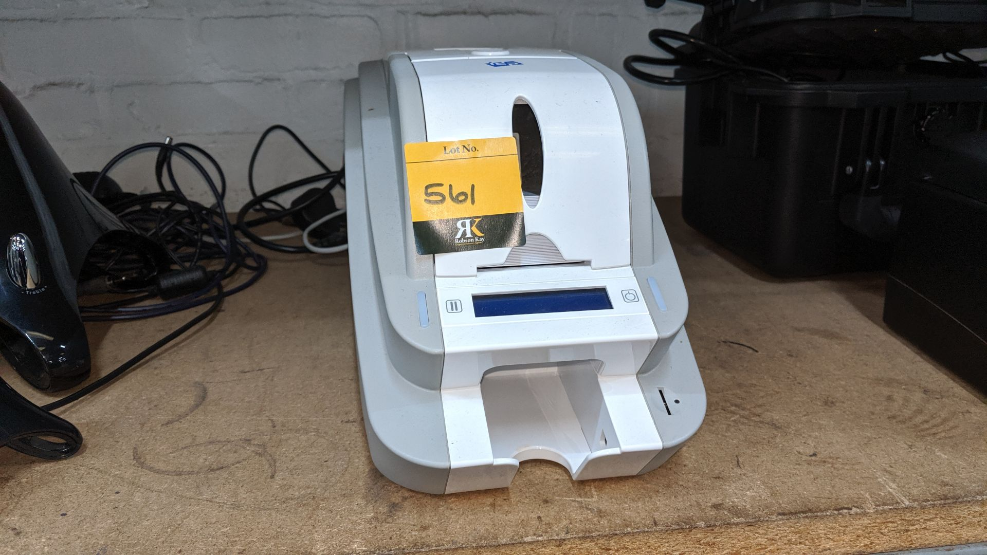 Lot 561 - IDP Smart-50S card printer. Lots 560 - 580 form the total assets of a healthcare recruitment company