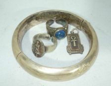 Konvolut Silber SchmuckLot of silver jewelery