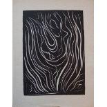 Lot 46 - Henri Matisse - Danseuse, 1943 - Linogravure Originale sur papier artisanal - [...]