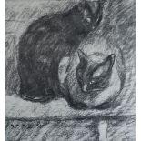 Lot 17 - Théophile Alexandre Steinlen - Chats Et Autres Bêtes - Lithograph on vélin [...]