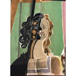 """Lot 38 - Georges Braque - Figure fragments - Lithograph - From """"Verve Nº5-6 Volume II"""" - [...]"""