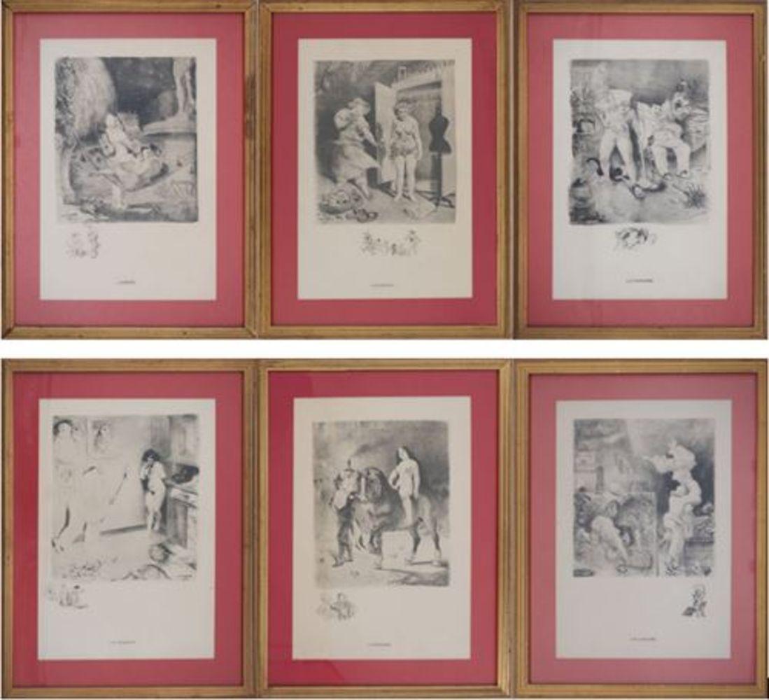 Miro, Chagall, Braque, Foujita, Picasso, Art Moderne et Post War