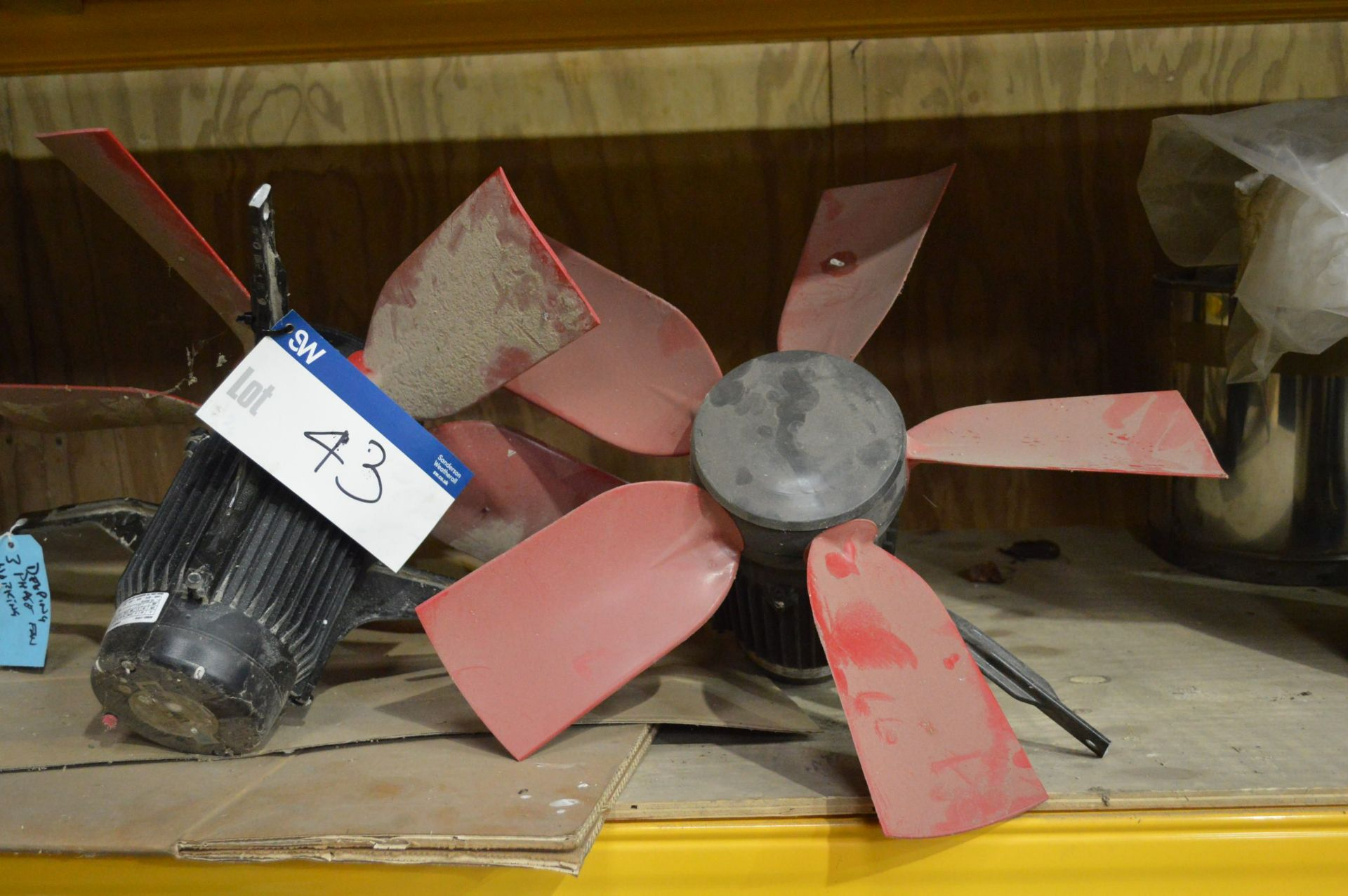 Lot 43 - Two Electric Fans
