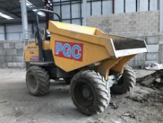 Mecalac TA9 9 Tonne Dumper, VIN no. SLBD1DJ0EJ6PS5279, year of manufacture 2018, indicated hours 336