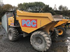 Mecalac TA9 9 Tonne Dumper, VIN no. SLBD1DJ0EJ6PS5252, year of manufacture 2018, indicated hours 412