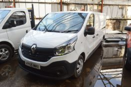 Renault Traffic LL29 Panel Van, registration no. HY65 MMX, date first registered 10/2015, tested