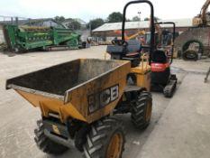 JCB 1THT Hydrostatic 1 Tonne Dumper, year of manuf