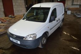 Vauxhall Combi 1.7 DTI Van, registration no. FE58 FFL, date first registered 10/2008, tested to 16/
