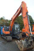 Doosan SX140LC-5 Tracked Excavator, identification no. DXCCEBBRCJ0020070, year of manufacture