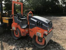 Hamm HD12 VV Tandem Roller, serial no. H2008348, year of manufacture 2017, indicated hours 343 (at