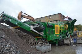 McCloskey J40v2 Jaw Crusher, serial no 76006, year of manufacture 2019(please note 5% Buyers
