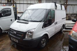 Ford Transit 100 T 280 Diesel Panel Van, registration no. BK62 UEO, date first registered 09/11/
