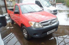 Toyota Hilux HL2 Diesel Pickup Truck, registration no. ND55 AYA, date first registered 30/09/2005,