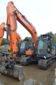Doosan DX140LC-5 Tracked Excavator, identification no. DXCCEBBRPJ0020069, year of manufacture