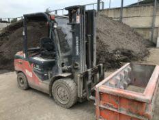 Goodsense FD35 3500kg Diesel Fork Lift Truck, serial no. 215013375, year of manufacture 2016,