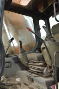 Case CX225 Zero Swing Tracked Excavator, serial no. DCH22U0163, year of manufacture 2004,