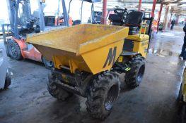 Mecalac TA1EH 1 Tonne Dumper, VIN no. SLBDPPK0EK1NY6424, year of manufacture 2019, indicated hours
