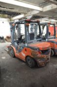 Goodsense FD25 2500kg Diesel Fork Lift Truck, serial no. 215012693, year of manufacture 2016,