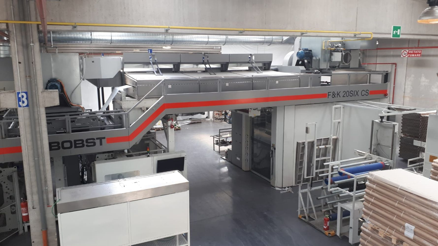Major Sale of Modern Flexographic Packaging Printing Presses & Equipment (available immediately by private negotiation)