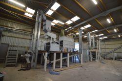 Biomass Wood Pellet Production Facility (commissioned 2015), 550kVA Generator & Fliegl 29t Push Off Trailer