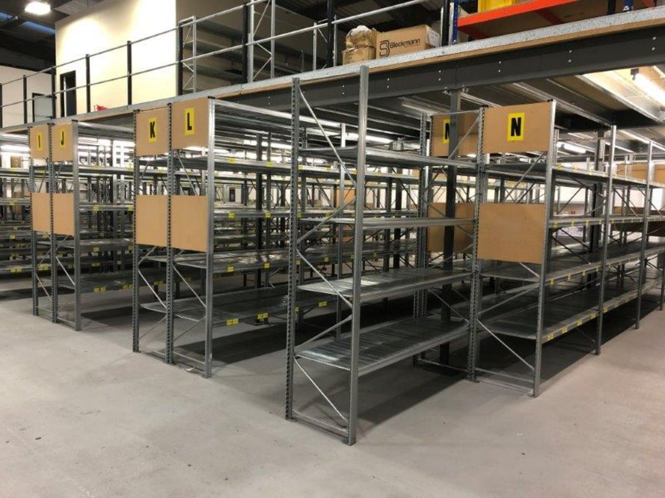 Warehouse Shelving & Equipment Office Furniture