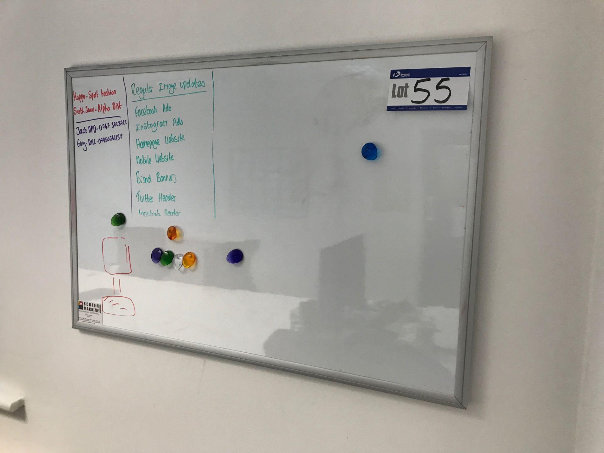 Lotto 55 - Wipe Clean White Board
