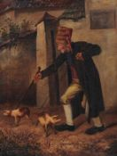 Václav Šebele, Der Schweinedieb. Spätes 19. Jh.Václav Šebele 1835 Mírec (Tschechien) – 1899 Písek (