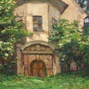 """Otto Altenkirch """"Weinkeller"""" (Hellerschänke). 1923.Otto Altenkirch 1875 Ziesar – 1945 SiebenlehnÖl"""