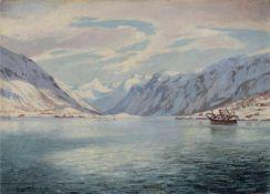 Peter Brandstätter, Die deutsche Flotte in Narvik. 1942.Peter Brandstätter 1917 Spittal an der