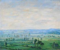 """Paraskewe von Bereskine """"Landschaft bei Oxford"""". 1930er Jahre.Paraskewe von Bereskine 1899 St."""