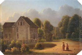 Cölestin Brügner (zugeschr.), Herrenhaus. Mitte 19. Jh.Cölestin Brügner 1824 Berlin – 1878