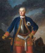 Antoine Pesne (Umkreis), Bildnis des Königs Friedrich Wilhelm I. von Preußen 1713–40. Um 1730.