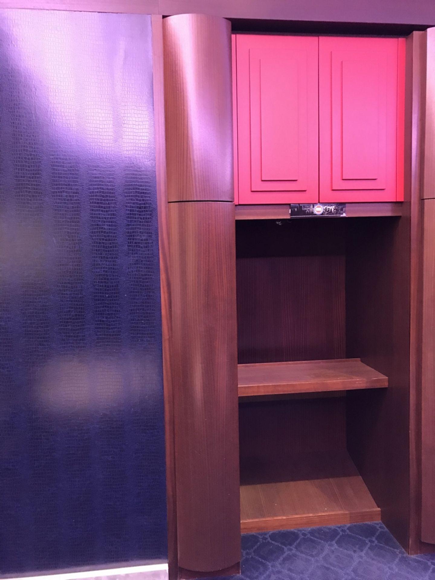 Lot 17 - Piston Player Locker , Dim. 64 in w x 107 in h x 35 in d , Location: Locker Room ***Note from