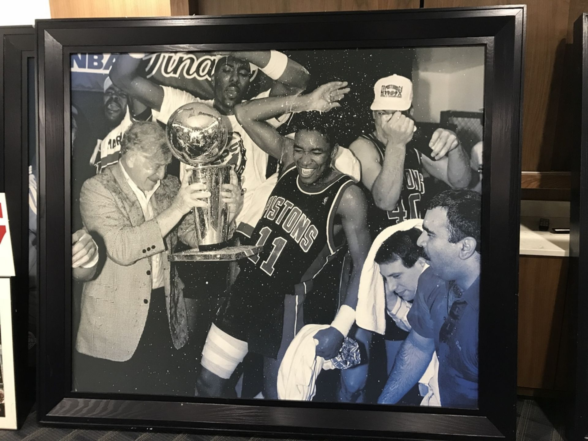 Lot 18C - 1989 Champ Celebration Framed on Canvas , Dim. 90 in x 78 in , Location: Chairmans Club ***Note from