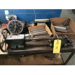 Geo. Stevens Lead Wire Cutting Machine w/Mandrels For Various Lead Lengths