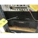 Soundcraftsment 900X2 Moset Power Amp & Crown CE4000 Amp.
