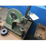Arbor Press for Voice Coil Mandrel Removal w/Tooling