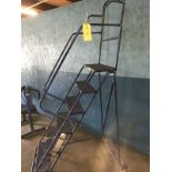 Blue Walk-Up Ladder 6 Step