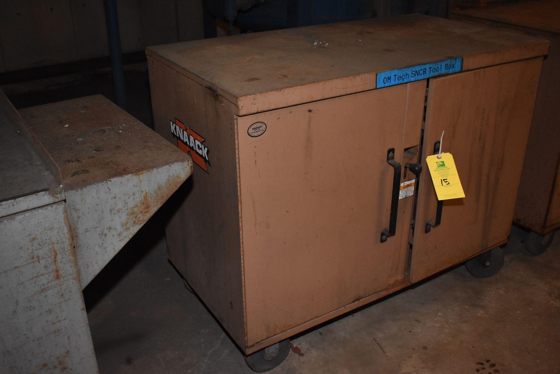 Lot 15 - Knaack Storagemaster Master 4S Job Box