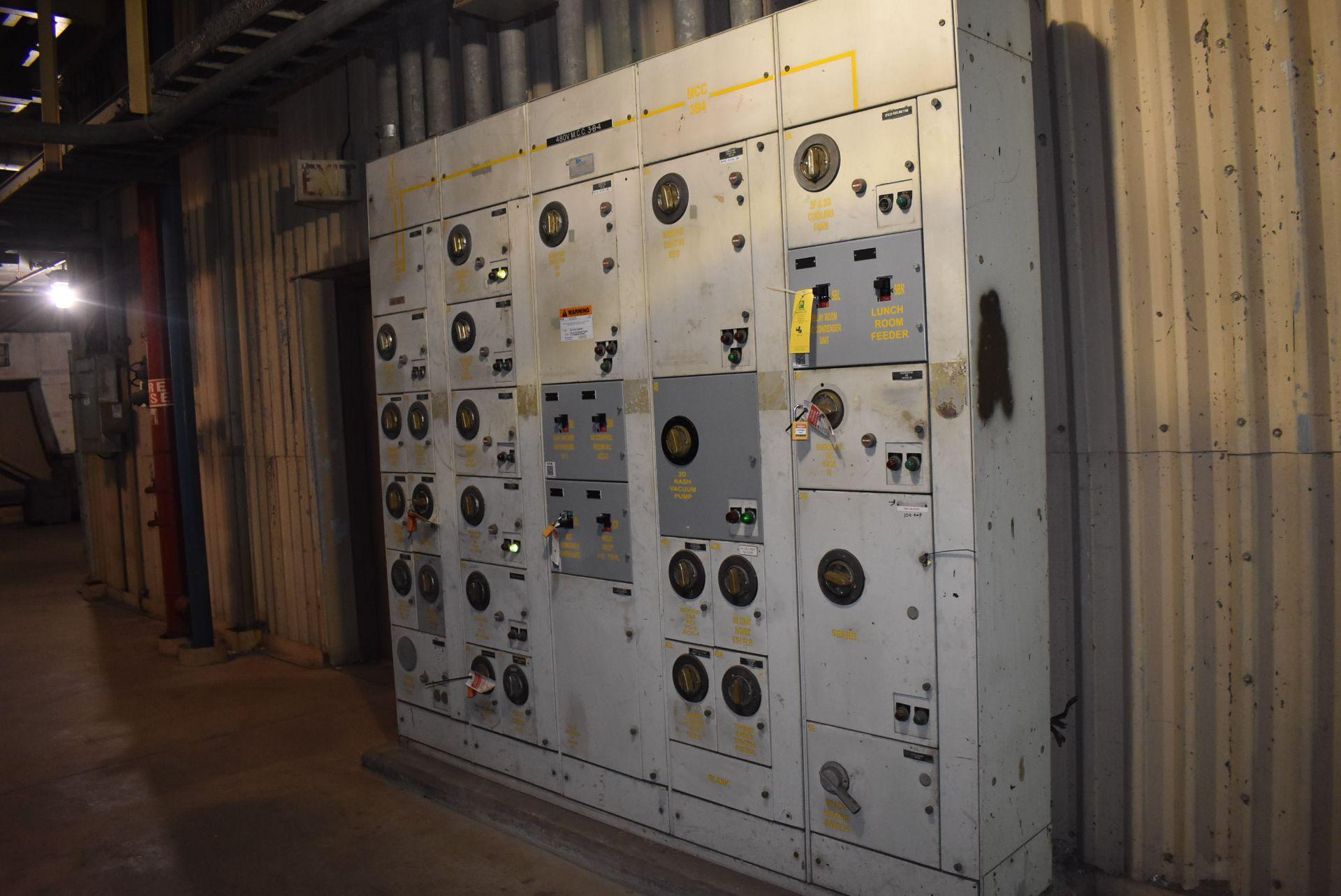 Lot 46 - Rowan MCC Unit, 480 Voltage