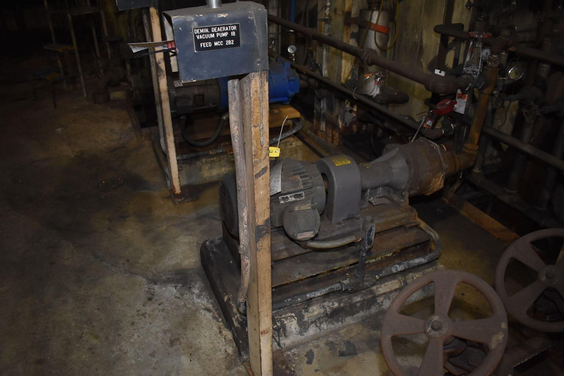 Lot 42 - Vacuum Pump, Approx. 5 HP
