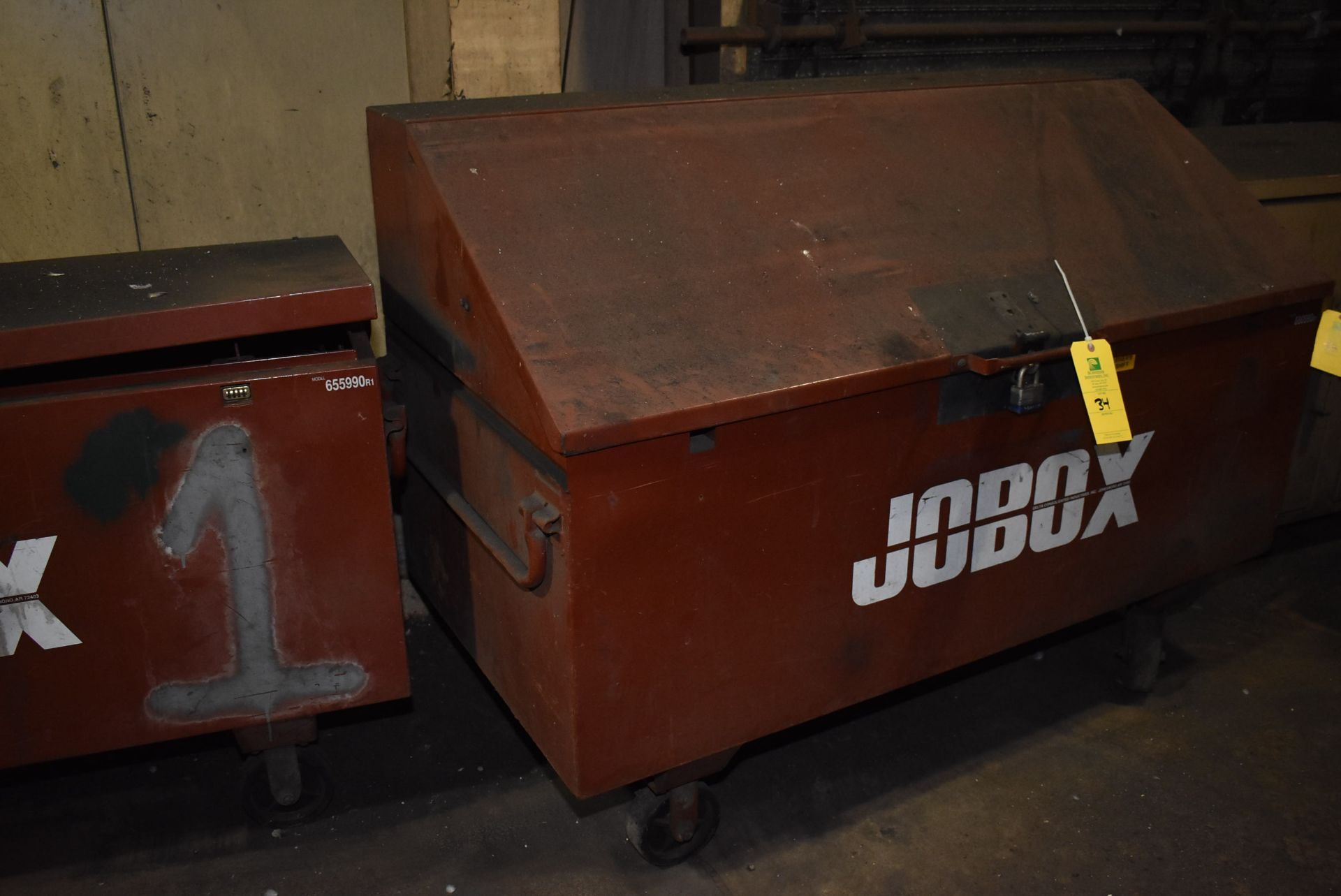 Lot 34 - Job Box Model 6559ORI, 4-Wheel Base